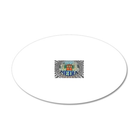 6-2-10 Dining (8) saturation 20x12 Oval Wall Decal