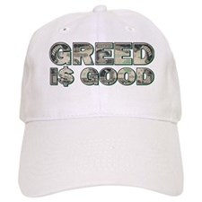 Greed is Good For Black copy Baseball Cap