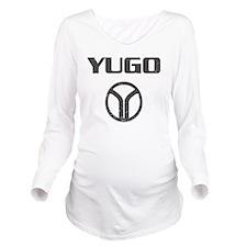 Yugo4 copy Long Sleeve Maternity T-Shirt
