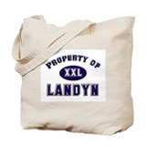 Property of landyn Tote Bag