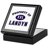 Property of landyn Keepsake Box