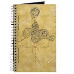 Celtic Spiral Manuscript Journal