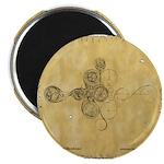 Celtic Spiral Manuscript Magnet