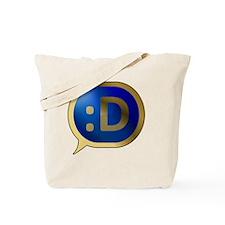 Bubble-Gold-BlueCrush-Laugh Tote Bag