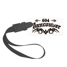 Vancouver 604 Luggage Tag