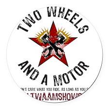 TWAAMLogoRnd Round Car Magnet