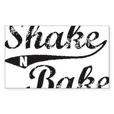 Shake and Bake Black Decal