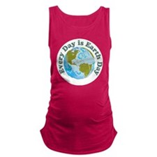 Earth_Button Maternity Tank Top