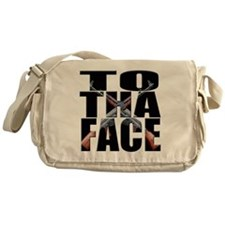 todaface png Messenger Bag
