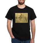 Celtic Spiral Manuscript T-Shirt - Dark Colors