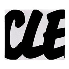 CLE Brushed W Throw Blanket