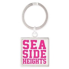 Sea Side Square Keychain