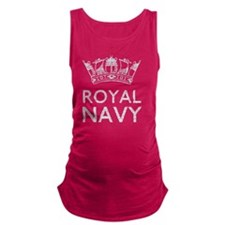 royal navy copy Maternity Tank Top