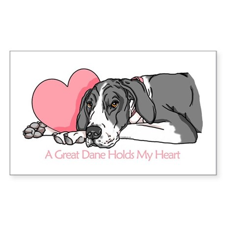Mantle UC Holds Heart Rectangle Sticker