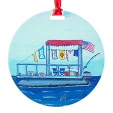 Pontoon Lagoon Ornament