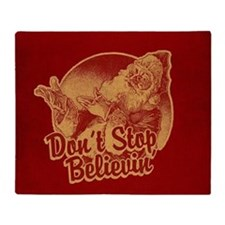 Don't Stop Believin' Throw Blanket