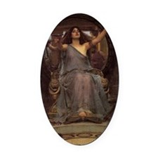 Circe Offering the Cup to Odysseus Oval Car Magnet