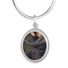 Boreas Silver Oval Necklace