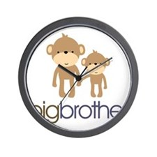 monkey big brother Wall Clock