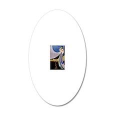 4 SLIDER 10 ADA 20x12 Oval Wall Decal