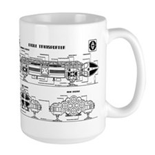 Space: 1999 - Eagle Transporter Mugs