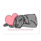 Black UC Holds Heart Postcards (Package of 8)