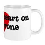 Heart on for Tyrone Mug