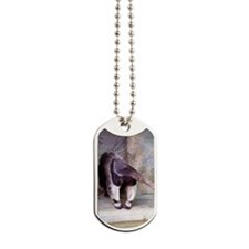 (11p) Giant Anteater Front Dog Tags