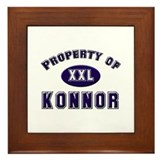 Property of konnor Framed Tile