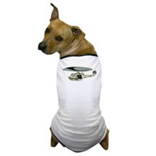 Military Helicopter Dog T-Shirt