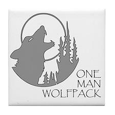 wolfpack Tile Coaster
