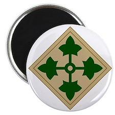 4th Infantry Division Magnet