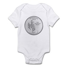 2007 Wyoming State Quarter Onesie