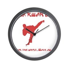 Rex Break Wrist Red Wall Clock