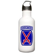 10th Infantry Division Sports Water Bottle
