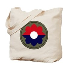 9th Infantry Division Tote Bag