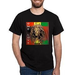 ONE LOVE LION Dark T-Shirt