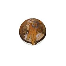 art-nouveau-round Mini Button