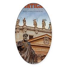 Vatican City Statues Decal