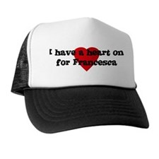 Heart on for Francesca Trucker Hat