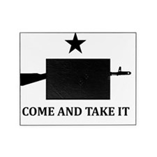 AK47 -COME AND TAKE IT- White Picture Frame