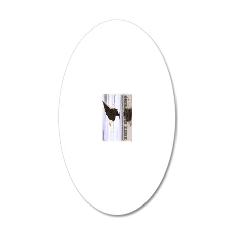 x14Wvwrd  shthpns 20x12 Oval Wall Decal