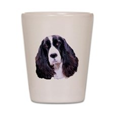 english springer spaniel Shot Glass