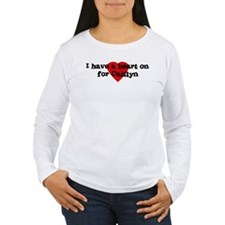 Heart on for Caitlyn T-Shirt