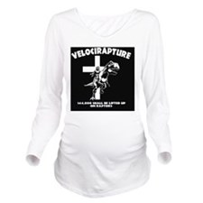 Velicirapture-tRex-B Long Sleeve Maternity T-Shirt