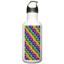 MGbeadsPatn441iphone Water Bottle