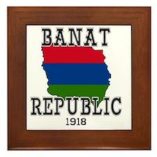 Banat Republic Framed Tile