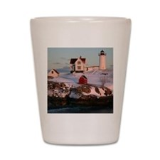 Nubble Light Tile Shot Glass