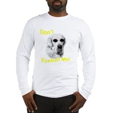 dont eyeball yellow Long Sleeve T-Shirt