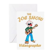 Shirt back for Josh Greeting Card